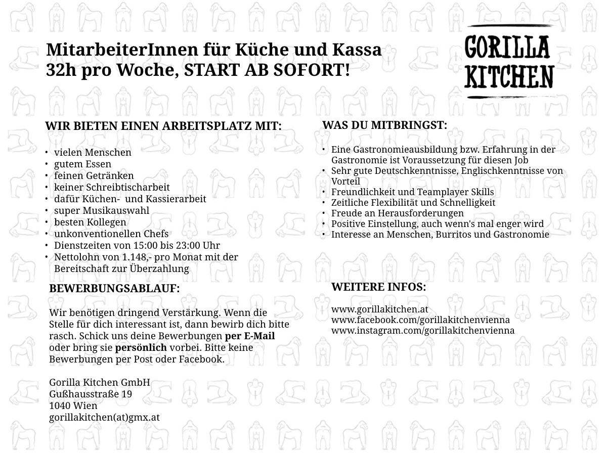 Stellenanzeige_Gorilla-Kitchen_32h_April-2019